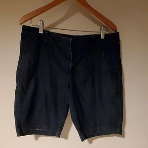Gap sz 14 dark wash denim shorts